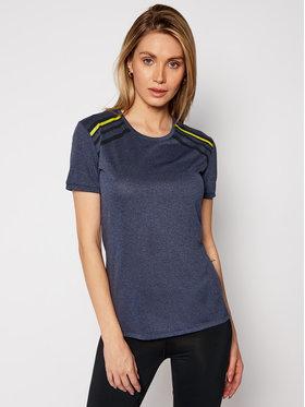Salomon Salomon T-shirt Comet LC1220500 Bleu marine Active Fit