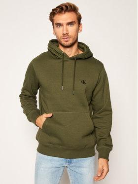 Calvin Klein Jeans Calvin Klein Jeans Суитшърт J30J315713 Зелен Regular Fit