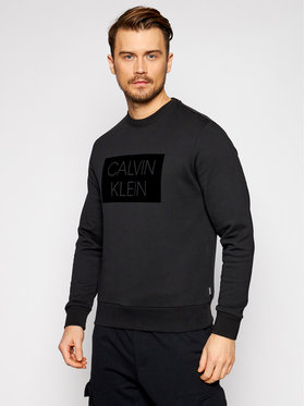 Calvin Klein Calvin Klein Μπλούζα K10K106722 Μαύρο Regular Fit