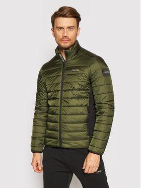 Calvin Klein Calvin Klein Pehelykabát Essential Side Logo K10K107335 Zöld Regular Fit