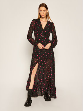 Guess Guess Kleid für den Alltag Dashamira W0BK90 WDDB0 Schwarz Regular Fit