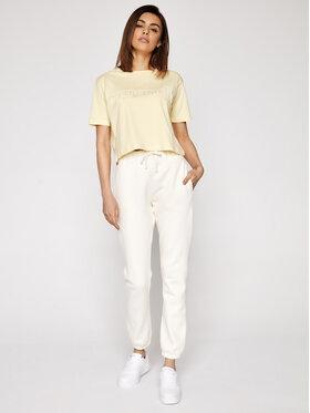Sprandi Sprandi T-Shirt SS21-TSD005 Gelb Cropp Fit
