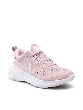 Nike Nike Buty React Miler 2 CW7136 500 Różowy