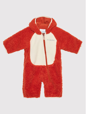 Columbia Columbia Overal Foxy Baby Sherpa Bunting 1863981 Oranžová Regular Fit