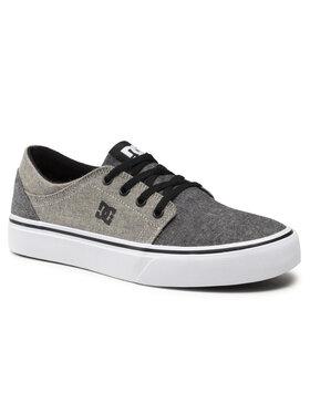 DC DC Sneakers aus Stoff Trase ADBS300138 Grau