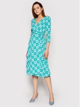 Guess Guess Každodenné šaty W1GK0S KAS20 Zelená Regular Fit