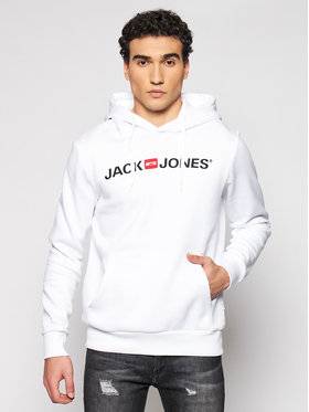 Jack&Jones Jack&Jones Sweatshirt Corp Old Logo 12137054 Weiß Regular Fit