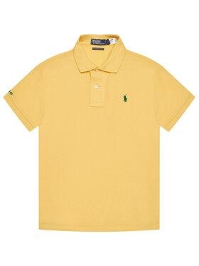 Polo Ralph Lauren Polo Ralph Lauren Polo marškinėliai The Earth 323780773014 Geltona Regular Fit