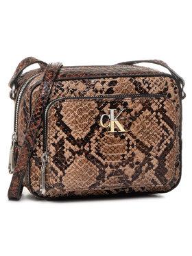 Calvin Klein Jeans Calvin Klein Jeans Kabelka Camera Bag W/Pckt Python K60K606895 Hnědá