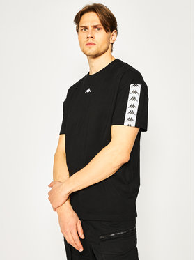 Kappa Kappa T-shirt Gabriello 307008 Nero Regular Fit