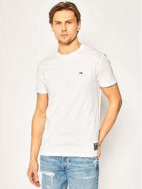 Tommy Jeans Tommy Jeans T-Shirt Slub tee DM0DM07809 Bílá Regular Fit