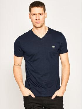 Lacoste Lacoste T-Shirt TH6710 Σκούρο μπλε Regular Fit