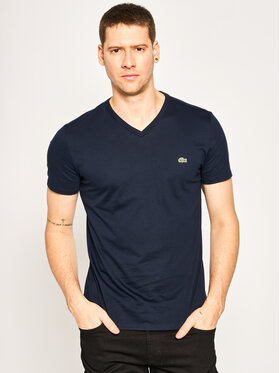 Lacoste Lacoste Tricou TH6710 Bleumarin Regular Fit