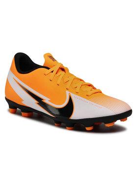 Nike Nike Buty Vapor 13 Club Fg/Mg AT7968 801 Pomarańczowy