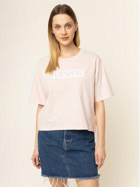 Levi's® Levi's® Póló Graphic Parker Tee 85634-0008 Rózsaszín Regular Fit