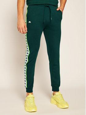 Kappa Kappa Teplákové kalhoty Henner 308021 Zelená Regular Fit