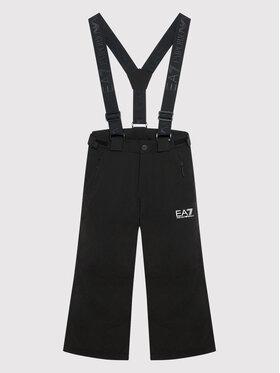 EA7 Emporio Armani EA7 Emporio Armani Lyžařské kalhoty 6KBP01 BN45Z 1200 Černá Regular Fit