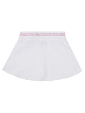 Emporio Armani Emporio Armani Spódnica 3H3N06 4J23Z 0100 Biały Regular Fit