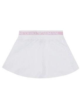 Emporio Armani Emporio Armani Suknja 3H3N06 4J23Z 0100 Bijela Regular Fit