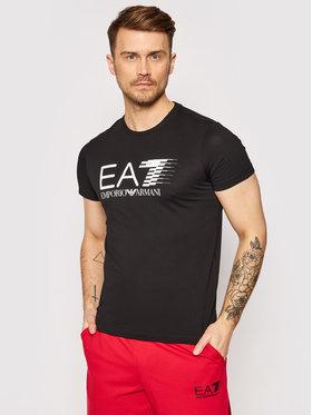 EA7 Emporio Armani EA7 Emporio Armani T-shirt 3KPT39 PJ02Z 1200 Noir Regular Fit