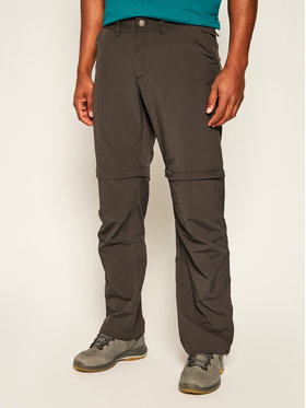 Jack Wolfskin Jack Wolfskin Spodnie outdoor Canyon Zip Pff 1504191 Szary Regular Fit