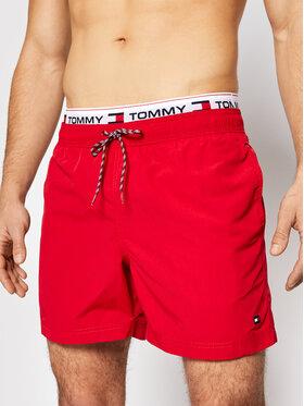 Tommy Hilfiger Tommy Hilfiger Badeshorts UM0UM02043 Rot Regular Fit