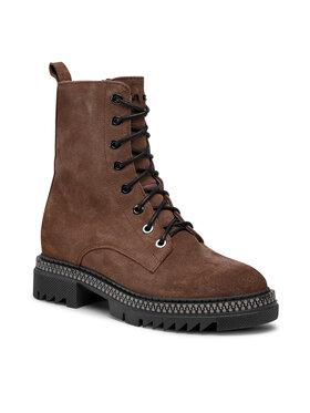 Carinii Carinii Outdoorová obuv B7540 Hnedá