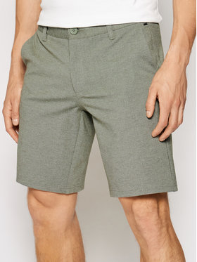 Only & Sons ONLY & SONS Stoffshorts Mark 22018669 Grün Regular Fit
