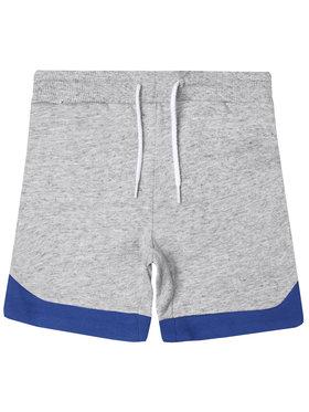 Little Marc Jacobs Little Marc Jacobs Pantalon scurți din material W24213 Gri Regular Fit