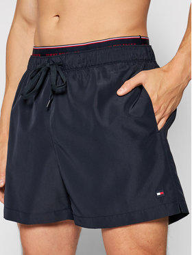 Tommy Hilfiger Tommy Hilfiger Kupaće gaće i hlače Medium UM0UM02062 Tamnoplava Regular Fit