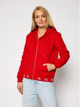 Calvin Klein Jeans Calvin Klein Jeans Bluza J20J215074 Czerwony Regular Fit