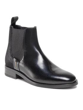 Gant Gant Kotníková obuv s elastickým prvkem Fayy 23551113 Černá