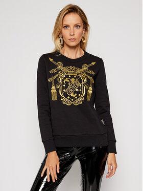 Versace Jeans Couture Versace Jeans Couture Majica dugih rukava B6HZB7TS Crna Regular Fit