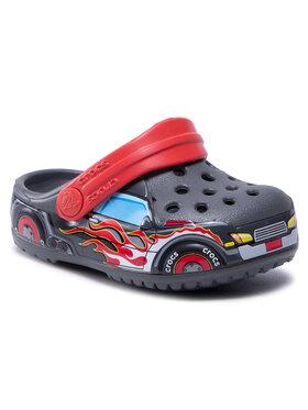 Crocs Crocs Klapki Fitruckbandclog K 207074 Szary