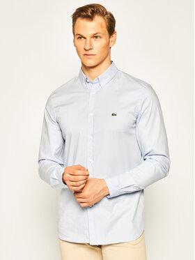Lacoste Lacoste Koszula CH7221 Niebieski Slim Fit