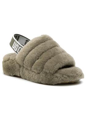 Ugg Ugg Papuče W Fluff Yeah Slide 1095119 Zelená