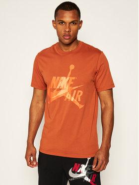Nike Nike T-Shirt Jordan Classics BV5905 Bordowy Standard Fit