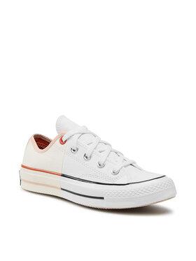 Converse Converse Sneakers aus Stoff Chuck 70 Ox 167673C Weiß