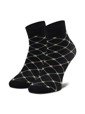 Elisabetta Franchi Elisabetta Franchi Vysoké dámske ponožky CZ-05D-11E2-V30 Čierna