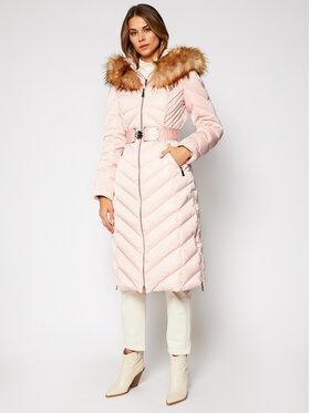 Guess Guess Płaszcz zimowy Sofia W0BL93 WDAU0 Różowy Regular Fit