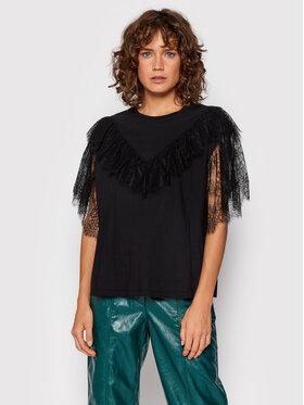 TWINSET TWINSET Блуза 212TT2280 Черен Regular Fit