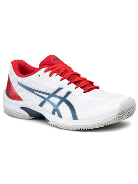 Asics Asics Обувки Court Speed Ff Clay 1041A093 Бял