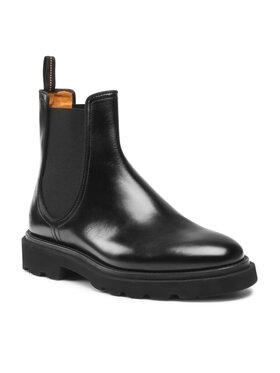 Fabi Fabi Členková obuv s elastickým prvkom FU0341 Čierna