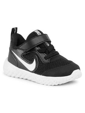 Nike Nike Boty Revolution 5 (TDV) BQ5673 003 Černá