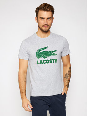 Lacoste Lacoste T-shirt TH2166 Grigio Regular Fit
