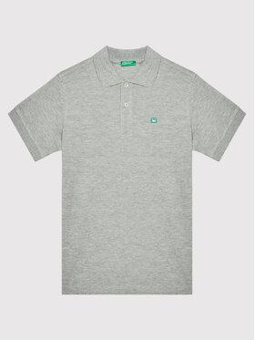 United Colors Of Benetton United Colors Of Benetton Polo marškinėliai 3089C3091 Pilka Regular Fit