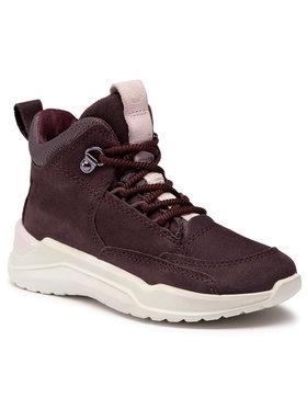 ECCO ECCO Sneakersy Intervene GORE-TEX 76471302385 Bordowy