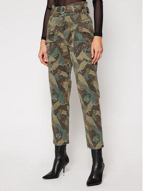 Guess Guess Παντελόνι υφασμάτινο W0BB05 W5DXR Πράσινο Relaxed Fit