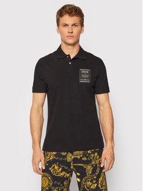 Versace Jeans Couture Versace Jeans Couture Polo Garanzia 71GAGT05 Czarny Regular Fit