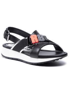 Loriblu Loriblu Sandále 1E XMI117 00 Čierna